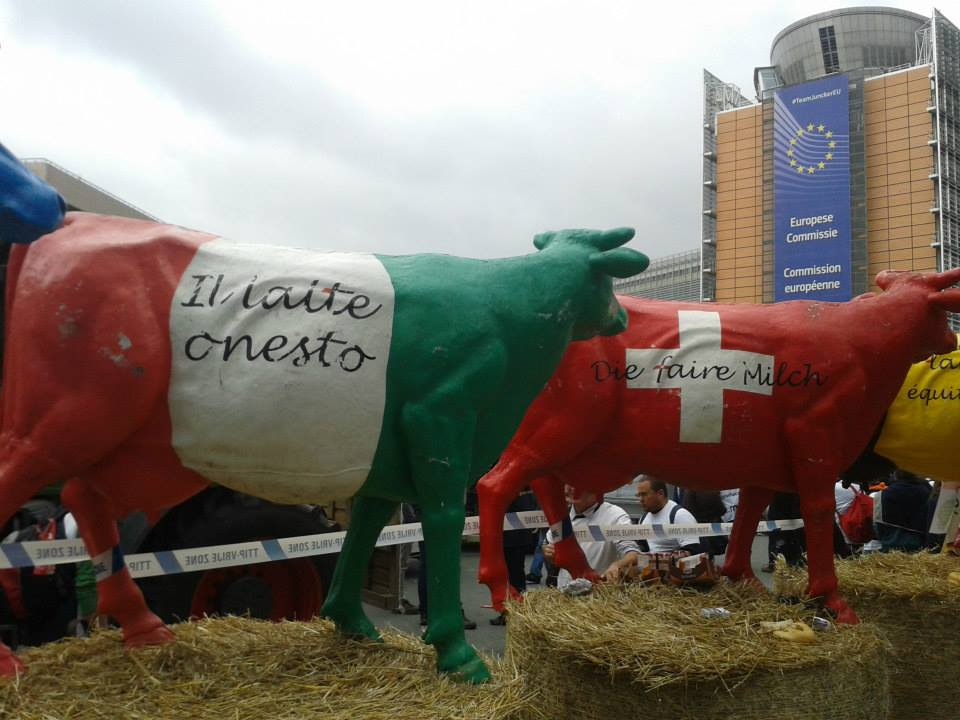 protesta agricoltori bruxelles