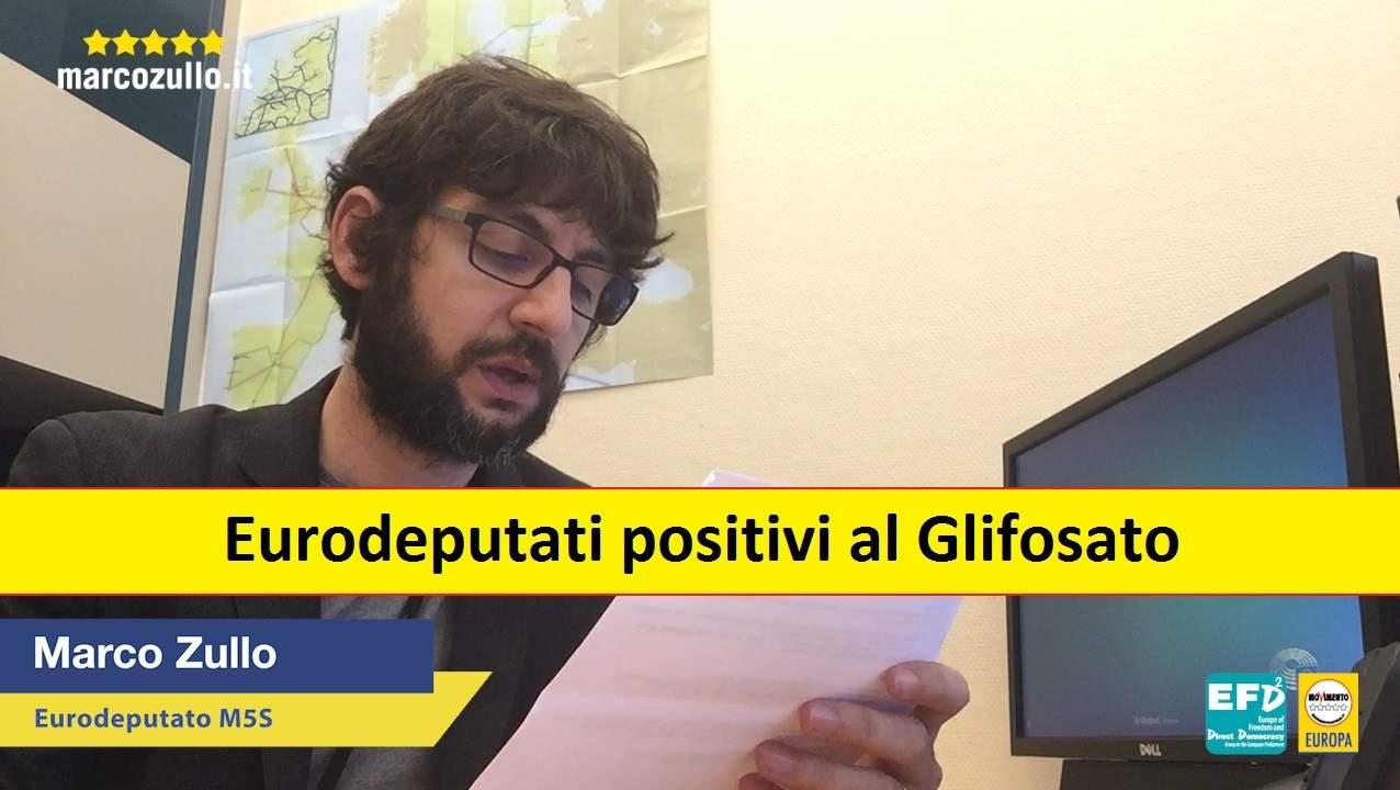 Marco Zullo M5S Europa glifosato pesticidi monsanto