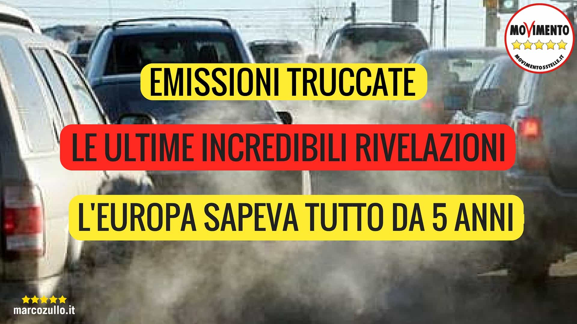 Marco Zullo M5S Europa emissioni truccate dieselgate volkswagen