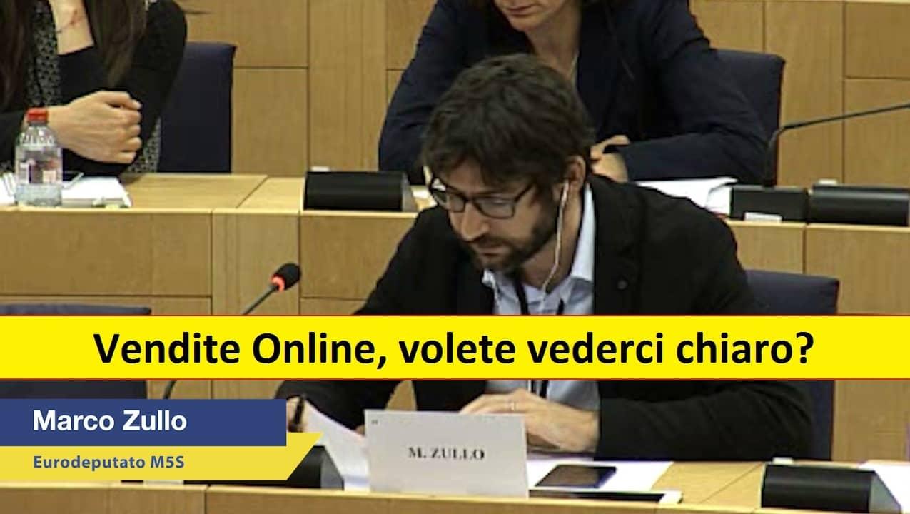 Marco Zullo M5S Europa vendite online tutele consumatori
