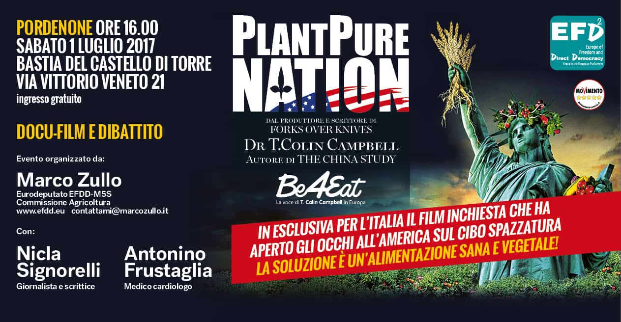 [:it]PlantPure Nation - Locandina tappa di Pordenone[:]