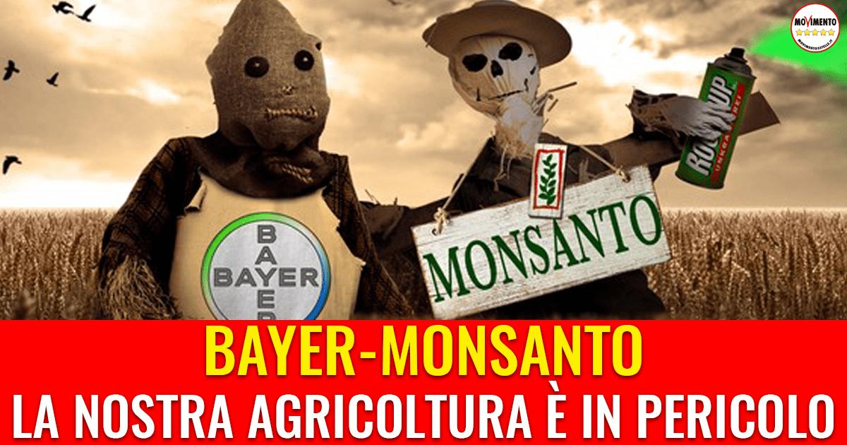 Bayer Monsanto: la nostra agricoltura è in pericolo