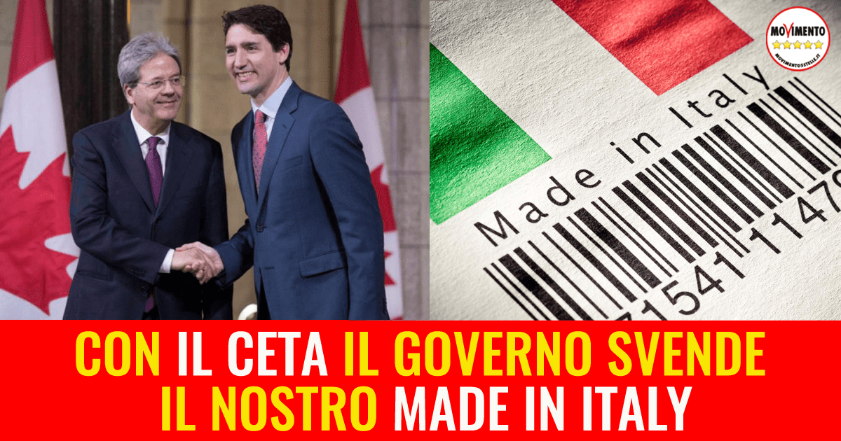 Immagine Gentiloni e Made In Itally