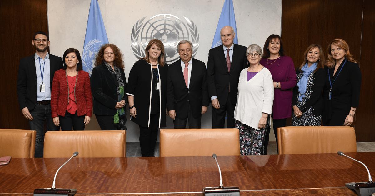 Marco Zullo all'ONU