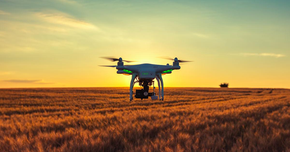 droni per agricoltura