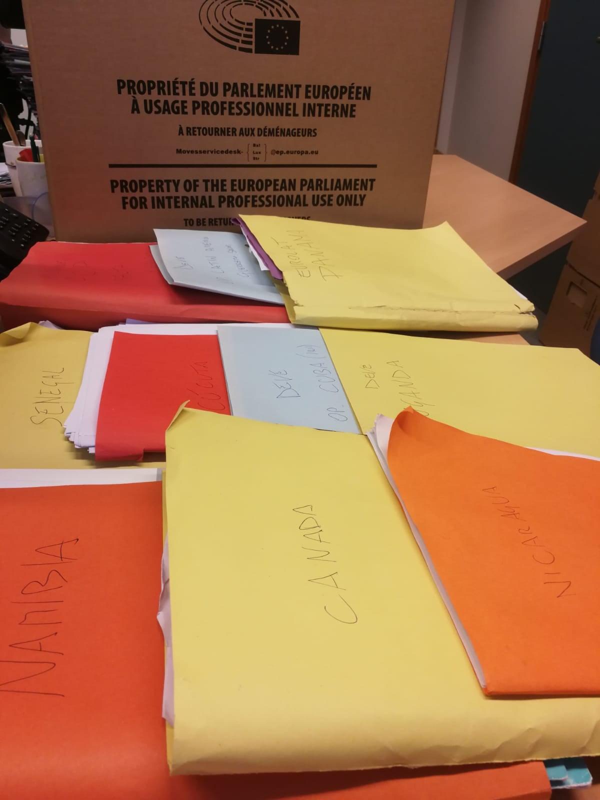scatole parlamento europeo